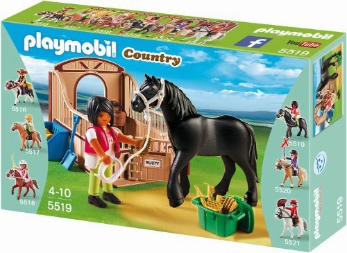 Brickstoy playmobil country horse stables series new - Pferde playmobil ...