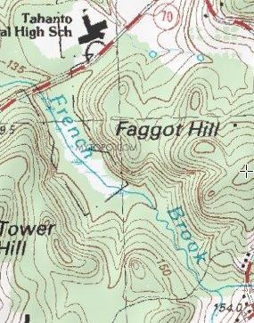 Of anders even lekker relaxen Faggot Hill, een heuvel nabij Boston