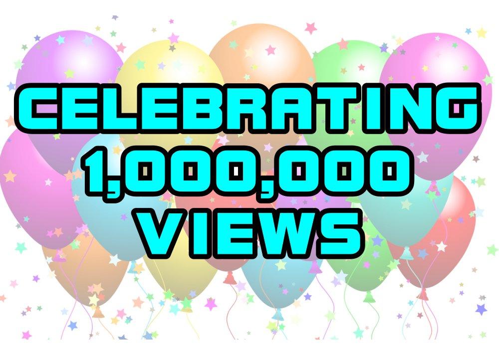 ขอบคุณสำหรับการเยี่ยมชม 1 ล้านยอดวิว