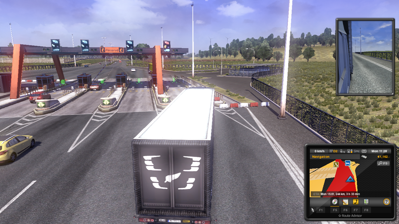 Download Euro Truck Simulator 2 - bayar tol
