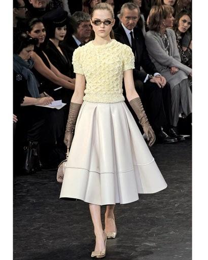 współczesne kolekcje ubrań inspirowane latami 50'tymi