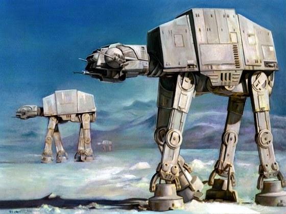 Talvez o veículo de combate mais legal no universo de Star Wars seja os Walkers Imperiais