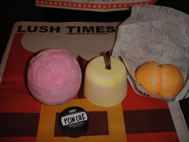 Lush, Lush Haul, Twilight lush, vanilla bath bomb lush, ponche shower gel, lush bath bombs, lush bubble bars