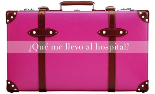 maleta del hospital para dar a luz