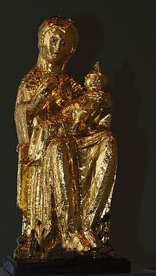Die goldene Madonna