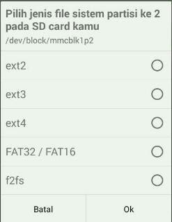 Cara Menggunakan Link2SD Untuk Menambah Ram Android