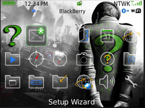 1 11111Q34I50 L Rain Drops Themes for BlackBerry 8310 and BB 8320