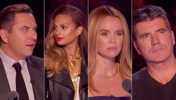 Clueless BGT Judges on what's happening on stage.