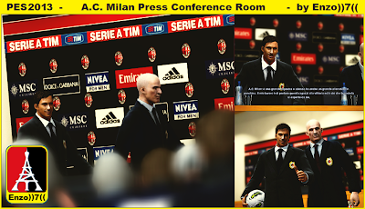 AC Milan Press Conference Room