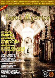 Portada del primer número de Ianua Mystica
