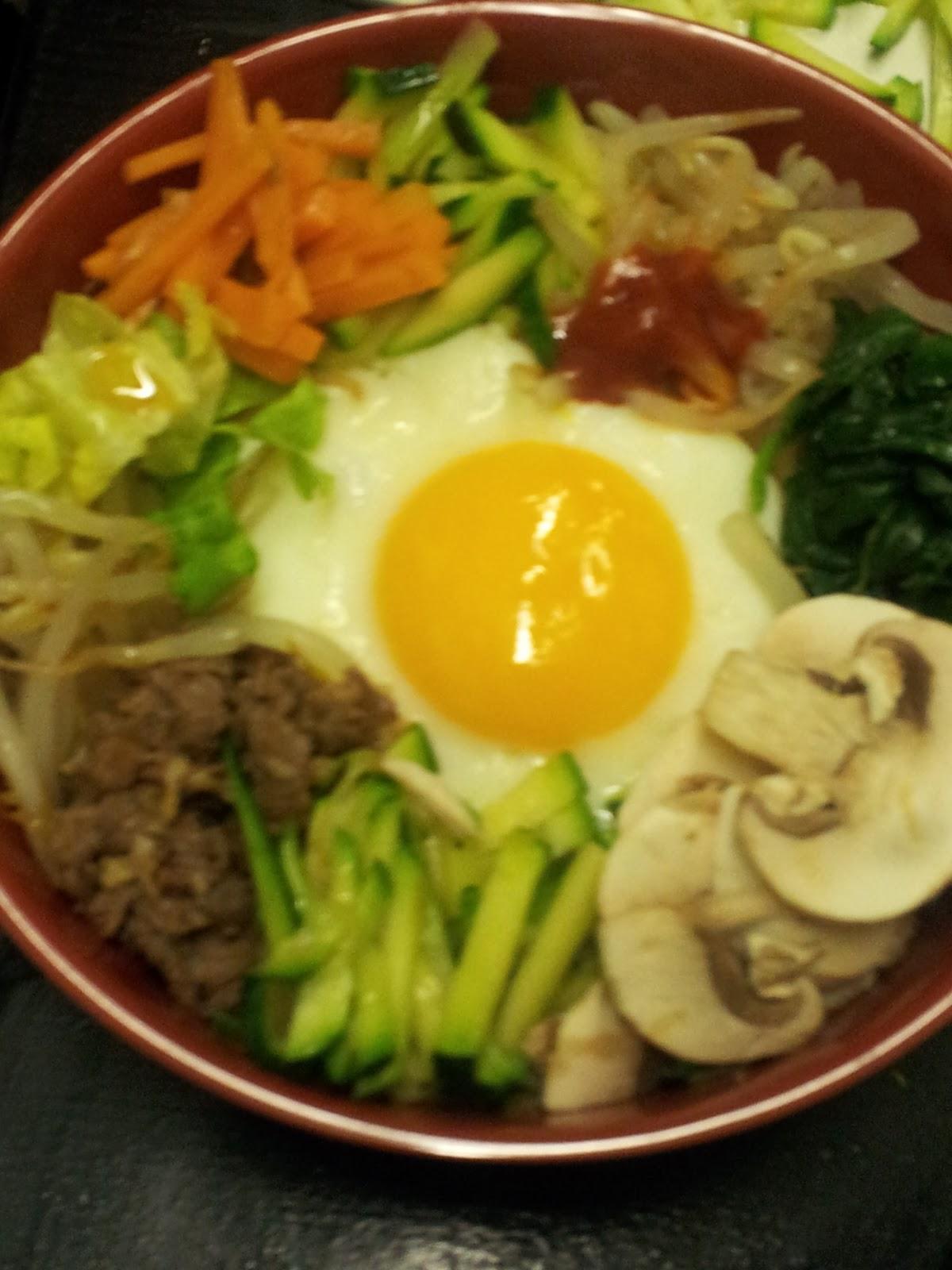 La cuisine cor enne bibimbap riz aux l gumes for Cuisine coreenne