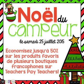 Noël du campeur - une vente
