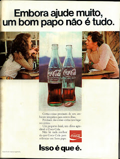propaganda Coca Cola - 1974 isso é que é