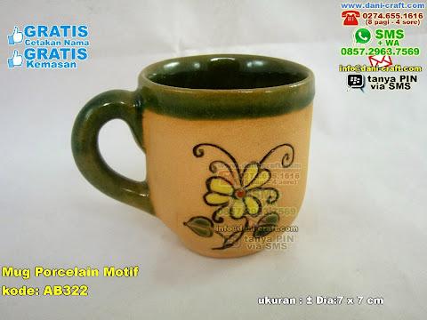 Mug Porcelain Motif