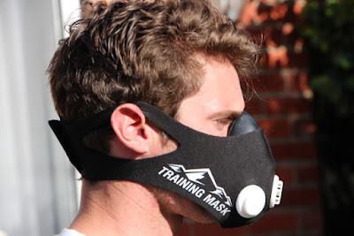 Máscara treino em altitude