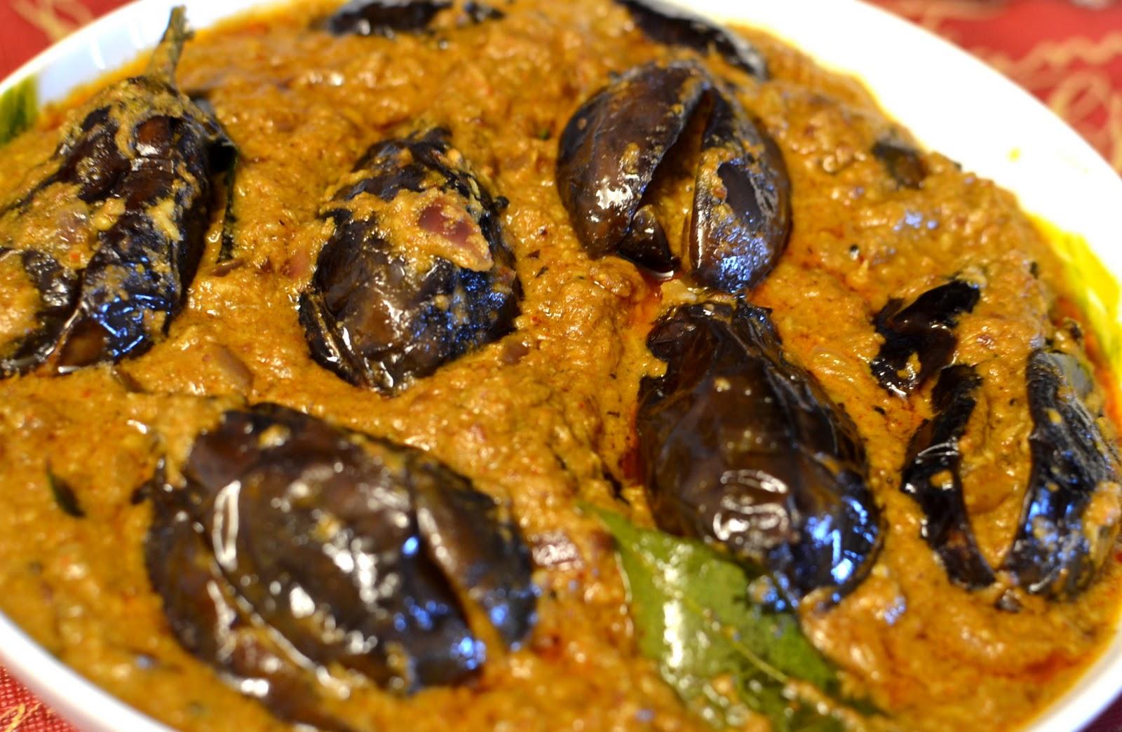 Gutti vankaya kura stuffed eggplant curry cook indian for Andhra cuisine dishes