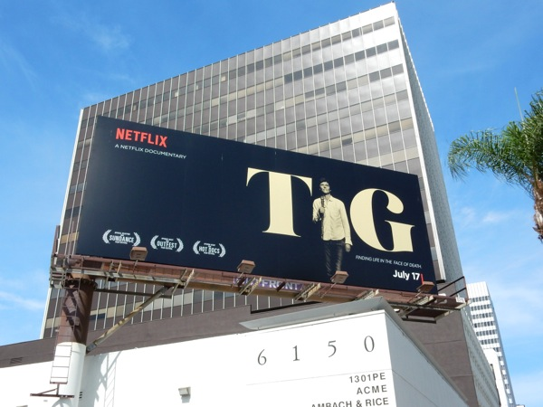 Tig documentary film billboard