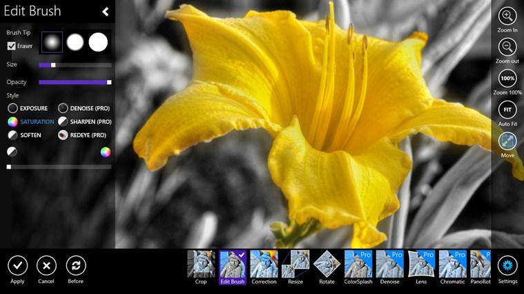 برنامج Fhotoroom لتعديل الصور وإضافة التأثيرات في ويندوز