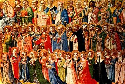 de Noviembre, Fiesta de Todos los Santos (Mt 5,1-12a): Yo quiero ...