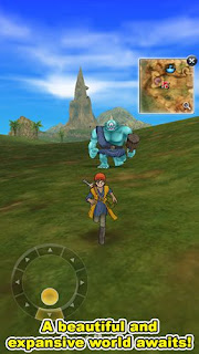Screenshots of the Dragon quest 8: Journey of the Cursed King for Android tablet, phone.