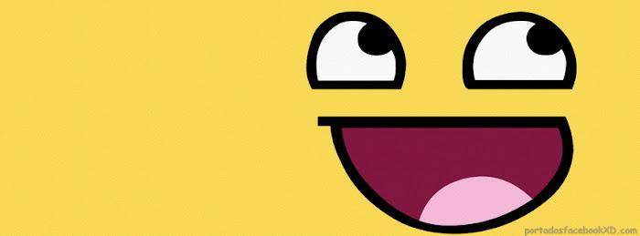 meme, smilies, cara sonriente, biografia de facebook, portada de facebook