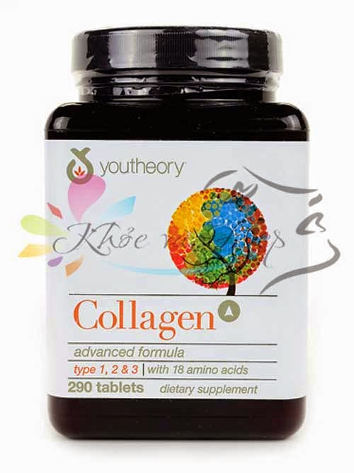 Youtheory Collagen  type 1,2,3 290 viên