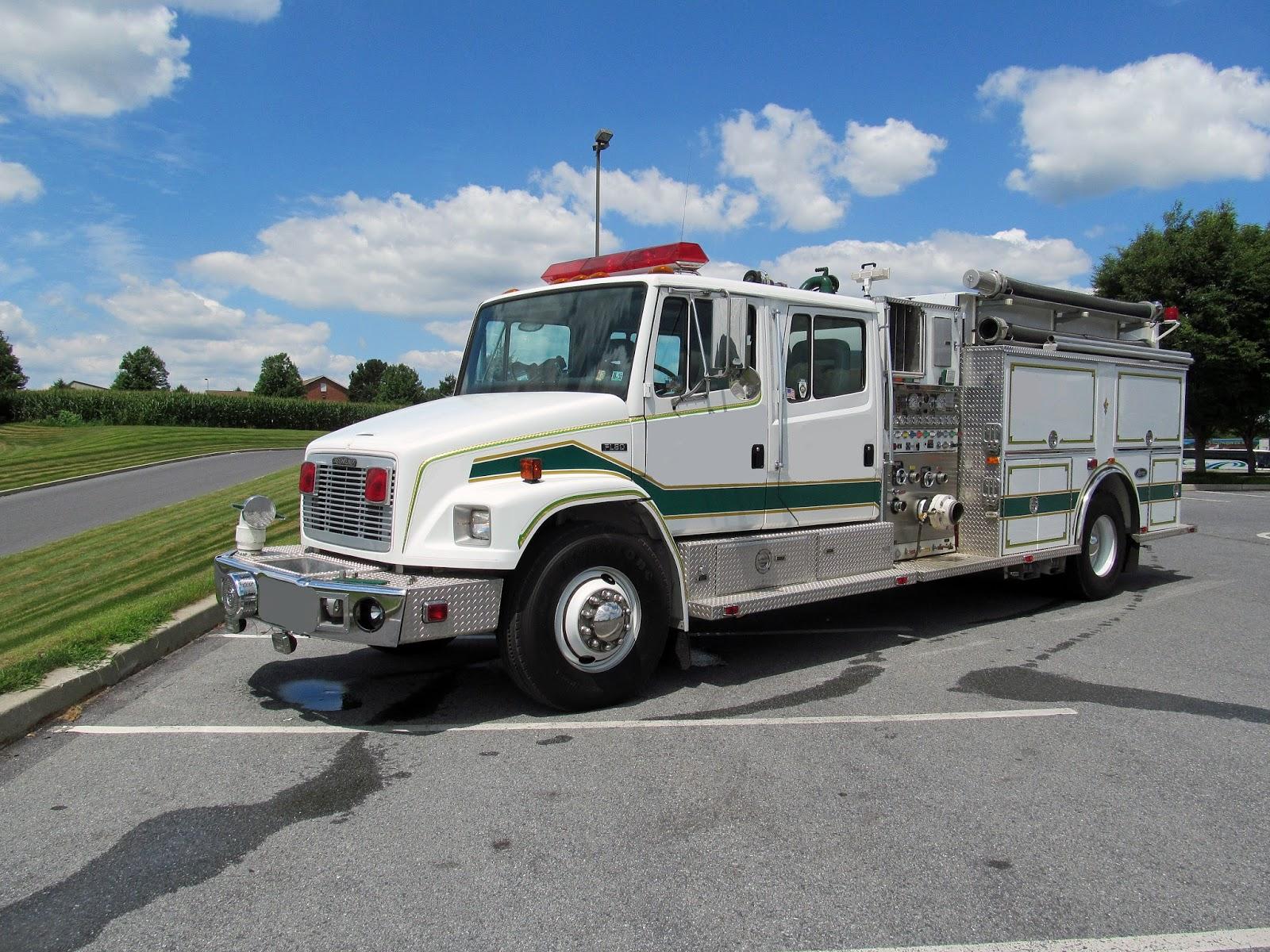 Used Fire Trucks : Fire line equipment used trucks for sale