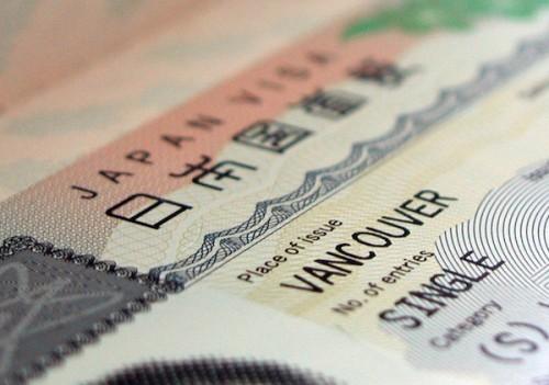Thủ tục xin visa đi nhật du lịch