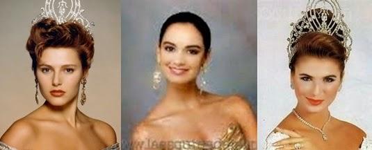 Misses Universo 90 - 91 - 92