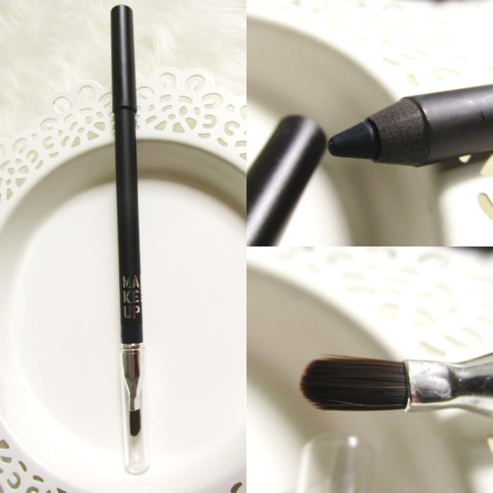 Review: Make up Factory Smoky Liner  long-lasting & waterproof - 17 Smoky Teal