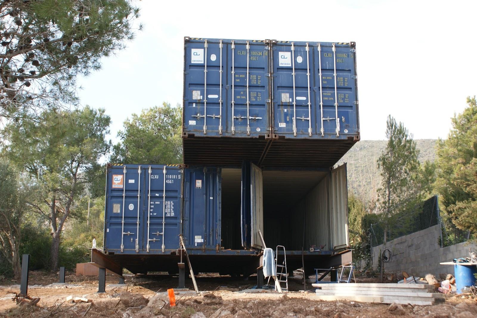 Contiene una casa todo llega - Precio casa contenedor ...