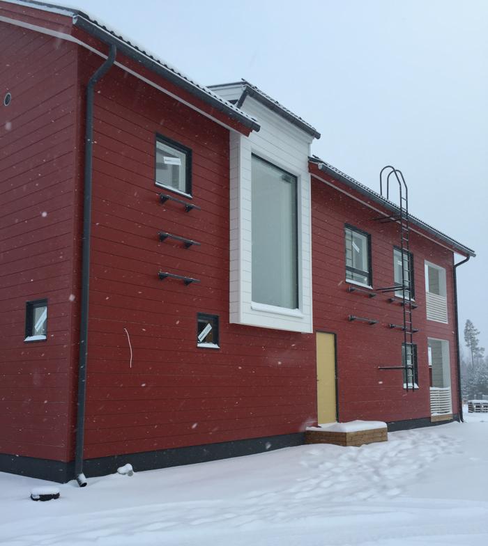 Ihan Salosti Kurkistus kulisseihin Asuntomessut Seinäjoella 2016