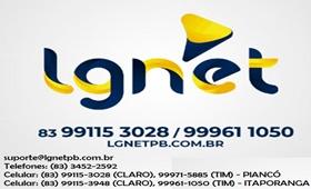 Internet é com a LG NET - Assine já!