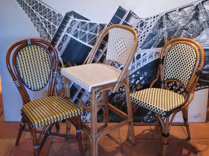 French Bistrot Chairs and Stool