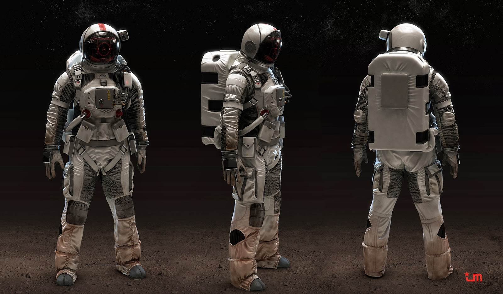 Astronaut by jeff miller cg daily news for Space designers
