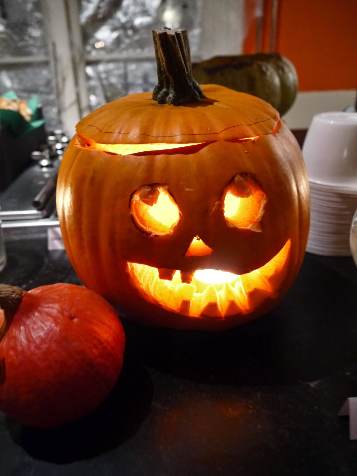 Jack'o Lantern for Halloween by Appetit Voyage