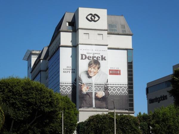 Ricky Gervais Derek billboard