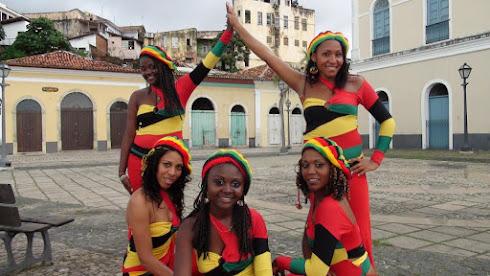 Meninas do Grupo saint Louis, de São Luis do Maranhão.