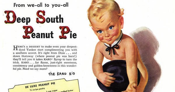 Nothing in the House: Vintage Deep South Peanut Pie Ad (Creepy)