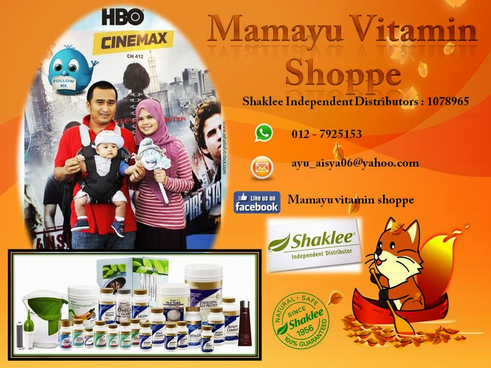 Like Page: mamayu vitamin shoppe