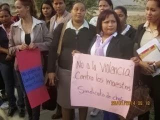 Maestros de Padre las Casas protestan, (Quillao) las guaguas subieron el pasaje