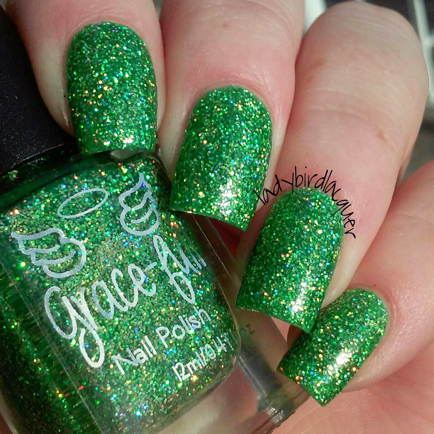 It\'s all about the polish: Grace-full Nail Polish - Peacock collection