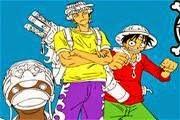 لعبة تلوين صور ون بيس One Piece Coloring