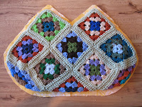 granny square purse