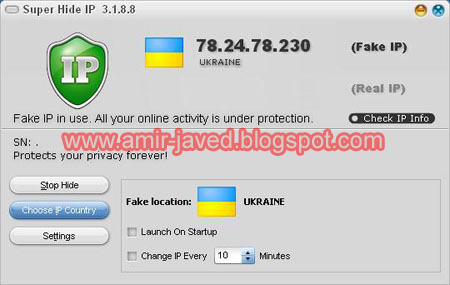 Super Hide IP v3-2-1-6 IP Changer Software Full Version ...