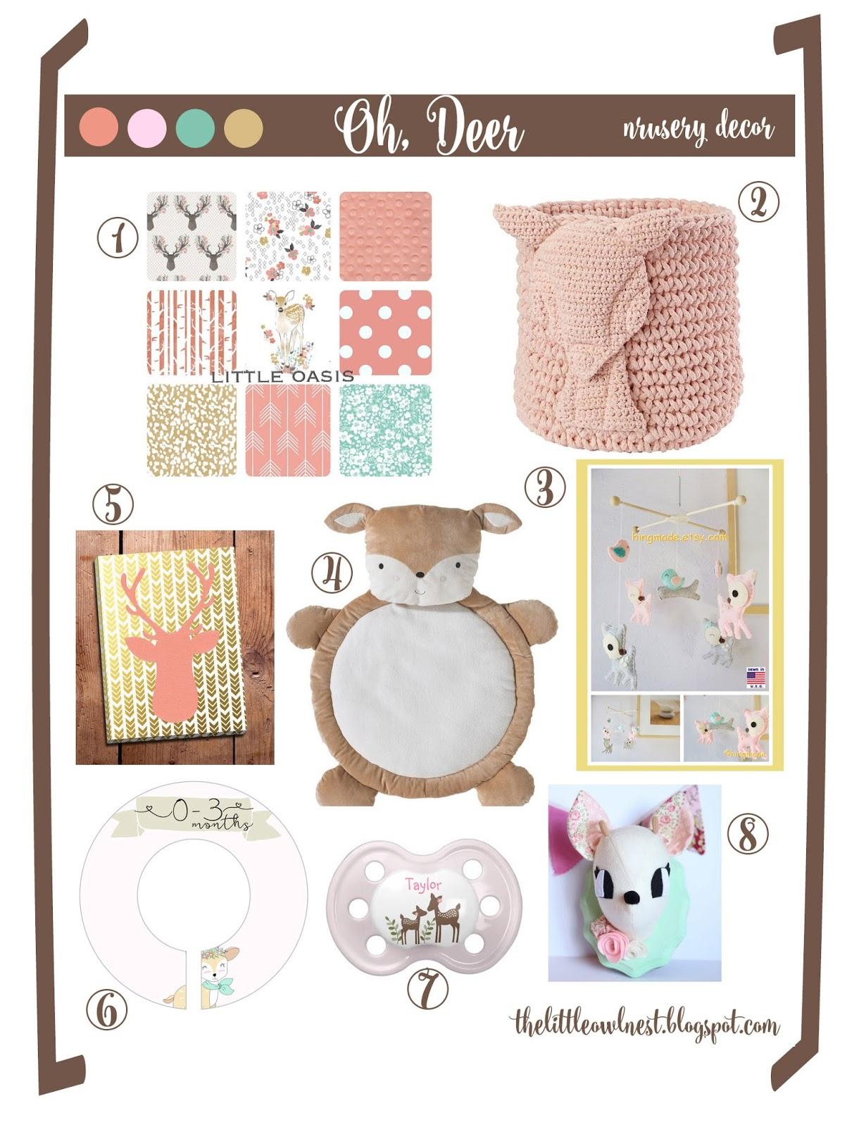 The Little Owl Nest Oh Deer My Nursery Design Picks