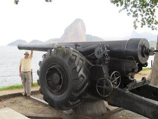 En el Fuerte de La Cruz (Brasil)