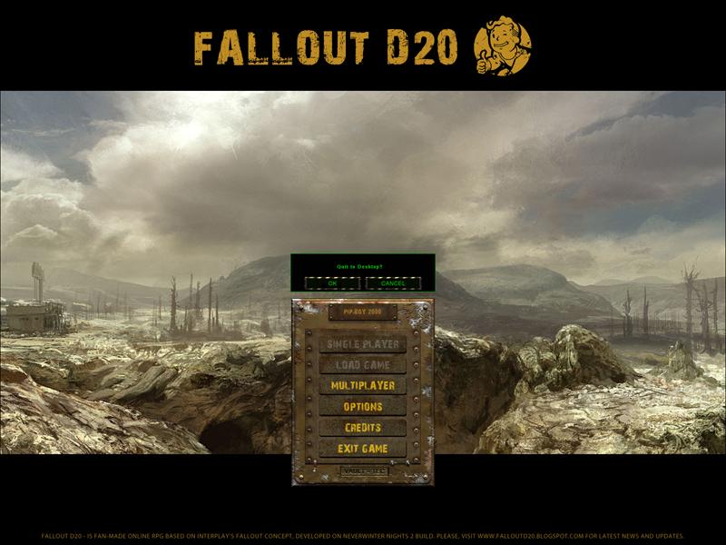 Several screens of Main Menu and Options
