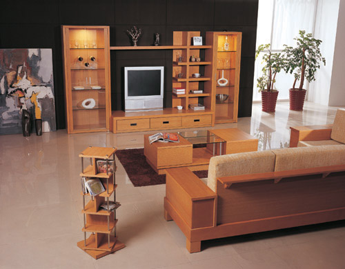 Interior decorations furniture collections furniture for Wooden living room furniture