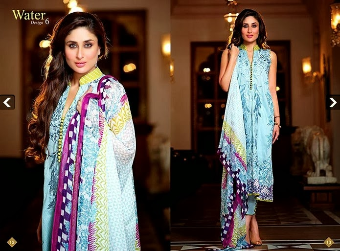 Crescent Evening Wear Lawn Collection